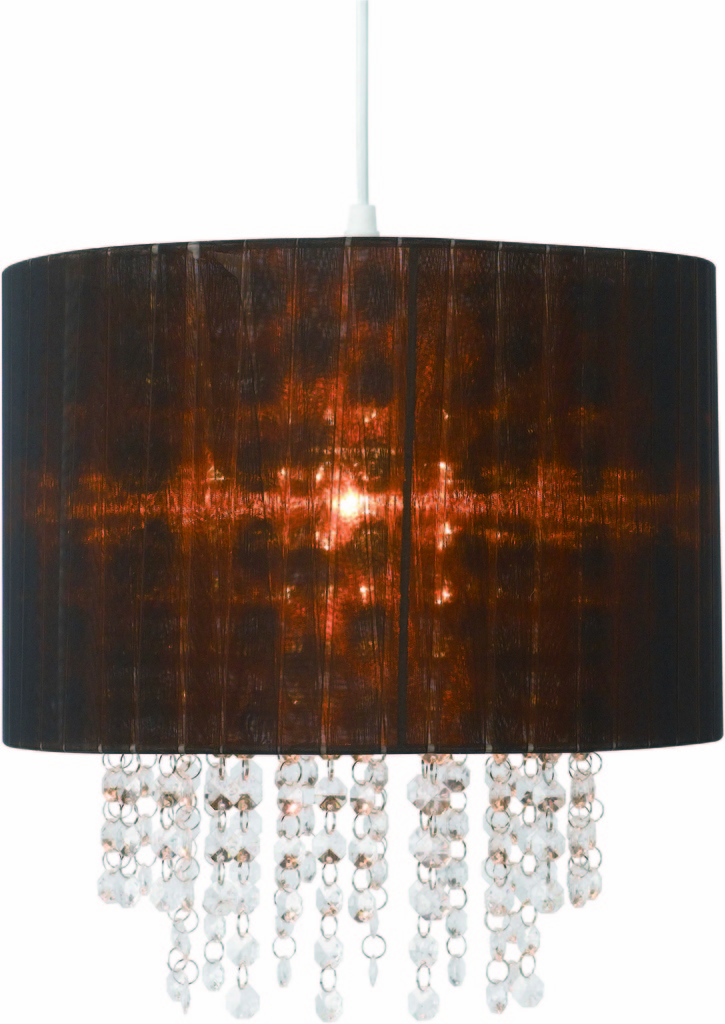 Meridian lighting milano lamp shade chocolate organza shade with meridian lighting milano lamp shade chocolate organza aloadofball Choice Image